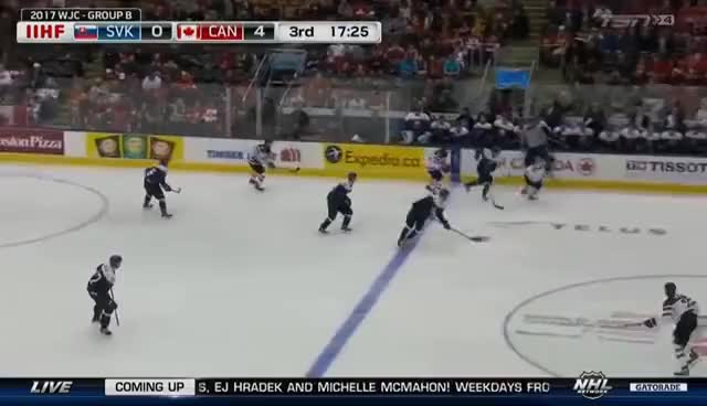 Watch and share 2017 WJC 27.12.2016 Canada - Slovakia GIFs on Gfycat