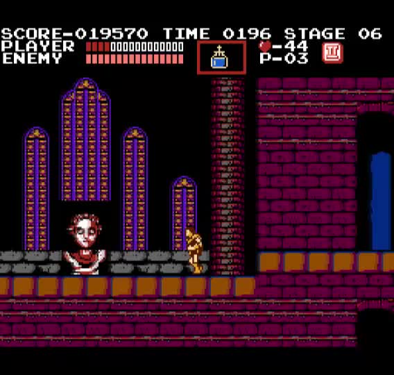 Watch and share Castlevania Medusa GIFs and Castlevania Game GIFs by The Game Show on Gfycat