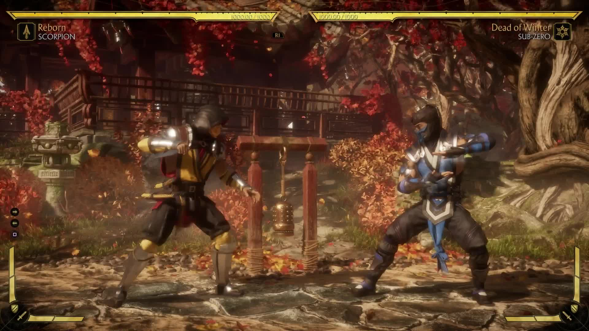 mortal kombat 11 scorpion combos nintendo switch