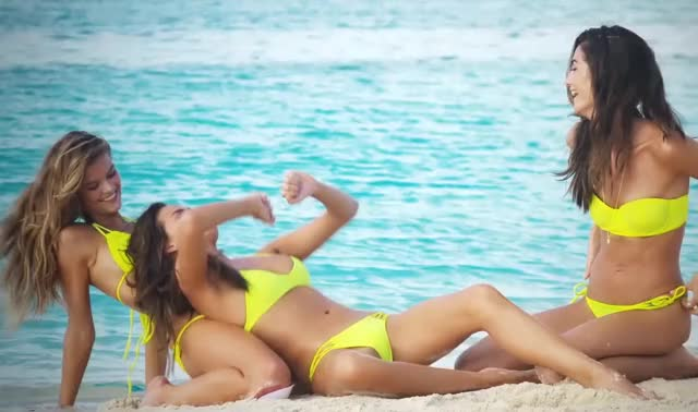 Watch and share Chrissy Teigen GIFs and Lily Aldridge GIFs by Geez Dude on Gfycat