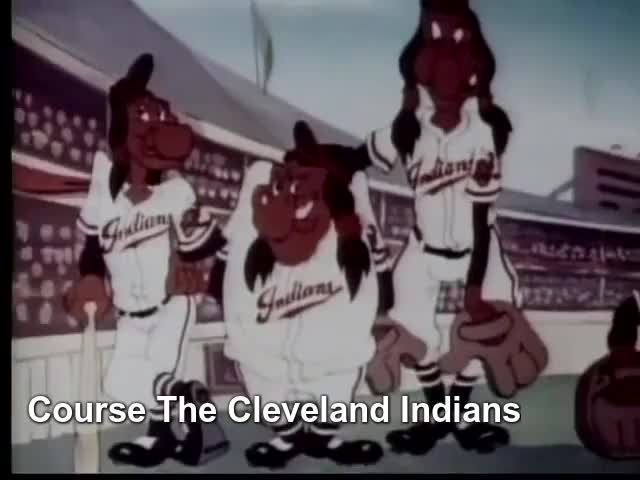 Watch Baseball Indians ⚾️ GIF by fannie123 on Gfycat. Discover more Cartoon, baseball, cleveland, cleveland indians, native amercian, screen songs GIFs on Gfycat