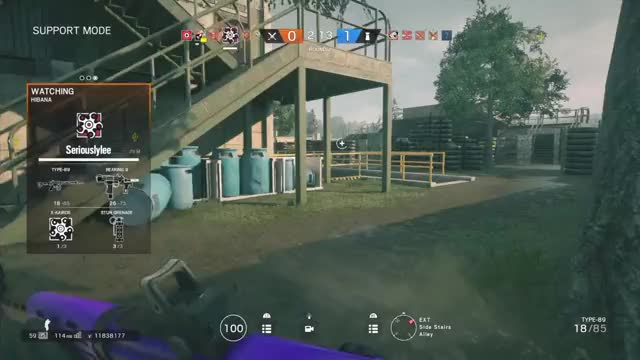 Watch The luckiest flick in console history GIF by @jakesgotmilk on Gfycat. Discover more PS4share, PlayStation 4, Rainbow6, Siege, Sony Interactive Entertainment, Tom Clancy's Rainbow Six® Siege GIFs on Gfycat
