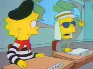 Watch and share Simpsons Model UN GIFs by nlawson on Gfycat