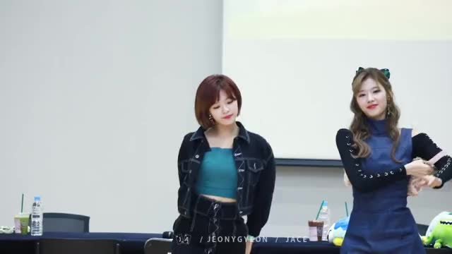 Watch and share Jeongyeon Fancam GIFs on Gfycat