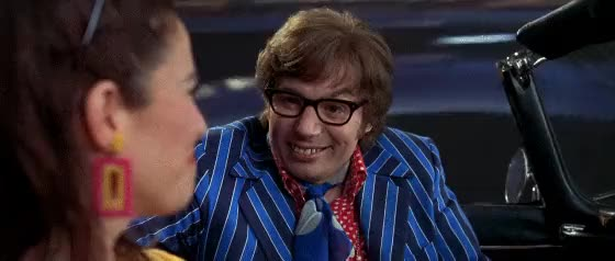 Watch and share Oh Behave! Yeah... Yeah Baby! [Austin Powers: International Man Of Mystery] (reddit) GIFs on Gfycat