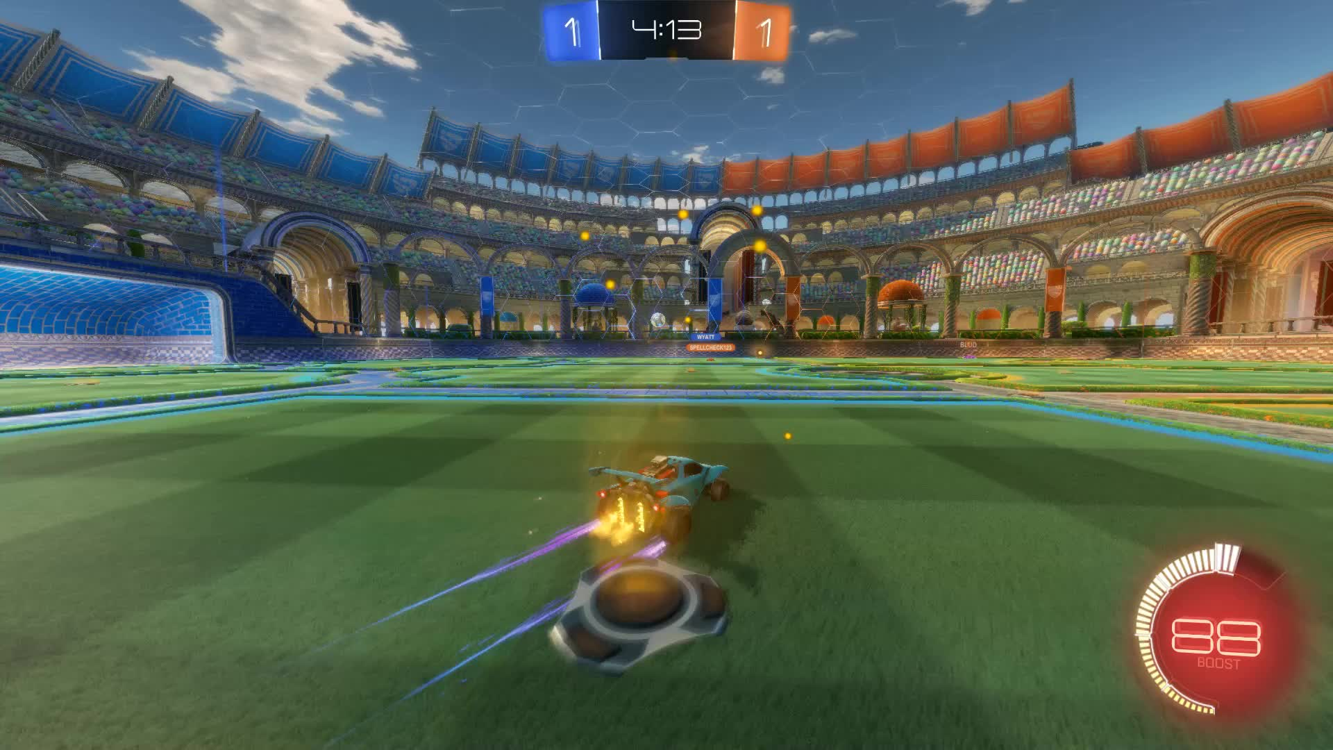 Gif Your Game, GifYourGame, Nyhx, Rocket League, RocketLeague, Nyhx Clip 1 GIFs