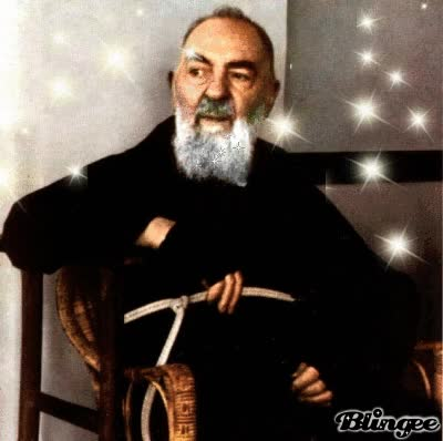 Watch and share Padre Pio GIFs on Gfycat