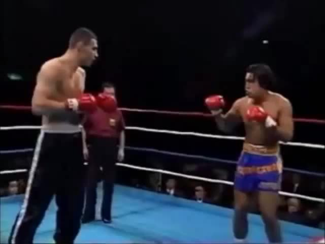 Watch Vitali Klitschko kickboxing highlights GIF on Gfycat. Discover more boxing, combat sports, vitali klitschko GIFs on Gfycat