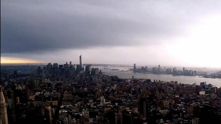 NYC, lightning NYC GIFs