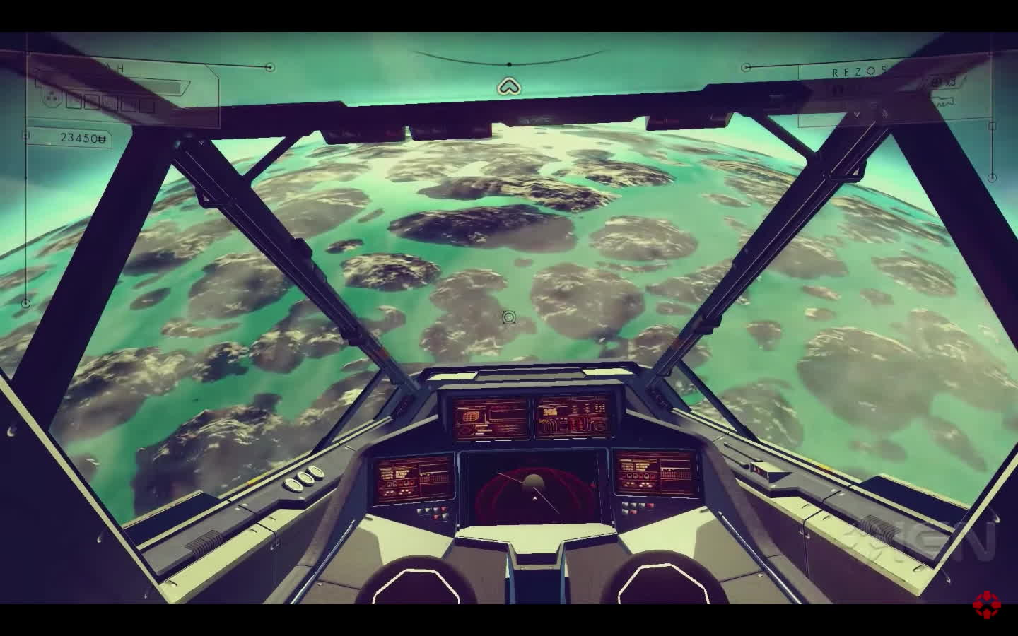 nomansskythegame, NMS Poll: Would you like to see smaller planets if it meant realistic textures and landscapes from space? (reddit) GIFs