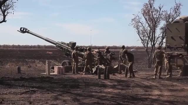 Watch Australian artillery firing as part of Ex Talisman Sabre. (reddit) GIF by @forte3 on Gfycat. Discover more shockwaveporn GIFs on Gfycat