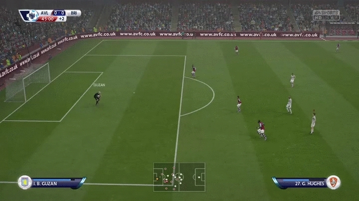 FifaCareers, fifacareers, The most ludicrous goal I've ever scored in career mode. If the computer had dared scored the likes of this against me I would have screamed blue bloody scripting murder for days. (reddit) GIFs