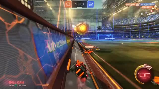 Rocket League [Gif] Epic Save! I love this game  (reddit) GIF | Find