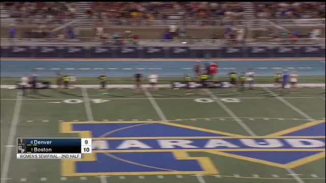 Watch Boston Brute Squad vs Denver Molly Brown--Women's Semi 2018 National Championships GIF on Gfycat. Discover more Sports, USA Ultimate, USA Ultimate (Sports Association), Ultimate (sport), disc, frisbee, sport, usau GIFs on Gfycat