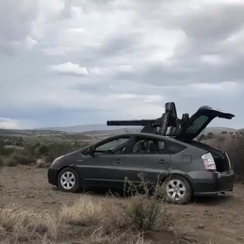 Watch 20MM Vulcan Cannon on top of a Prius. GIF on Gfycat. Discover more Chris_Isur_Dude GIFs on Gfycat