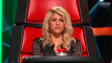 Watch reality show the voice gif GIF on Gfycat. Discover more shakira GIFs on Gfycat