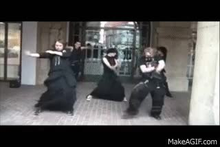 Watch and share Goth Dancing GIFs on Gfycat