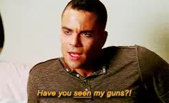 Watch and share [reblog Not Repost] GIFs and Mark Salling GIFs on Gfycat
