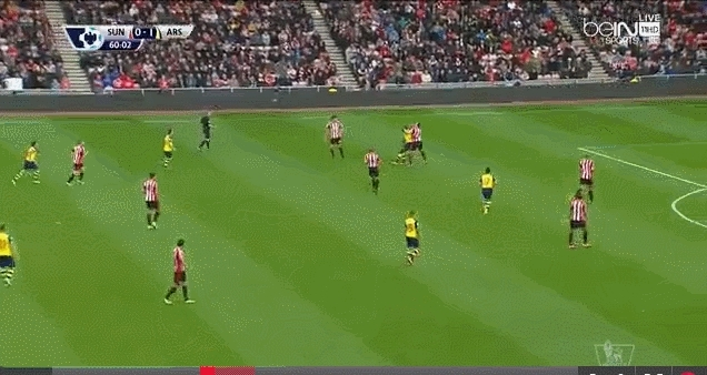 safc, soccer, Vergini skill vs. Arsenal GIFs