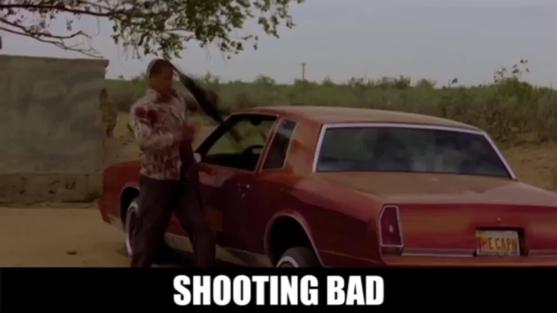 Shooting, actuallyfunny, breakingbad, Shooting bad GIFs