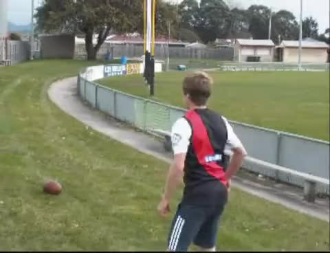 Watch AFL trick shots GIF on Gfycat. Discover more Footy, alex, vid GIFs on Gfycat