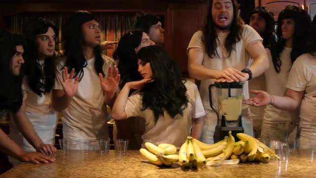 Andrew W.K. - It's Time To Party - Official Music Video Time Rock Party New Jersey (US State) New Network Music Video Music Metal Jersey Jackass It's Hard Fun Cartoon AndrewWK Andrew A.W.K. GIF
