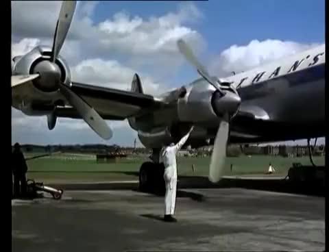 Watch and share Deutsche Lufthansa ✈ Imagefilm 1958 GIFs on Gfycat