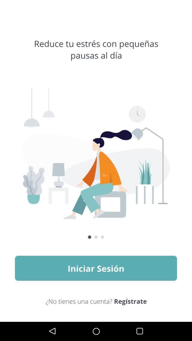 Watch and share Wellness Pausa App GIFs on Gfycat