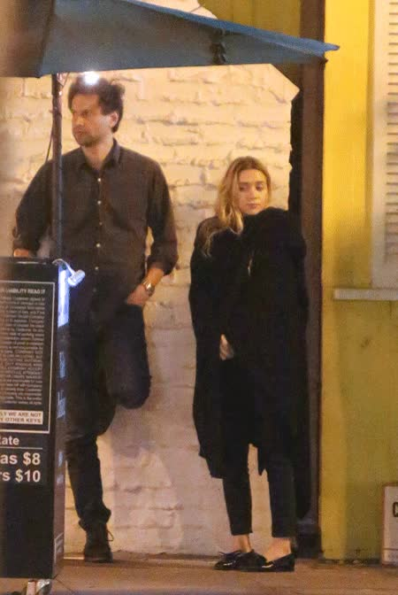 Watch and share Ashley Olsen Dines Out With Mystery Man In Weho GIFs on Gfycat