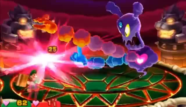 Watch and share Mario & Luigi Superstar Saga + Bowser's Minions: Bowletta + Soul Battle GIFs on Gfycat