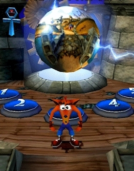 gaminggifs, Crash Bandicoot 3 - Upvote Collected GIFs