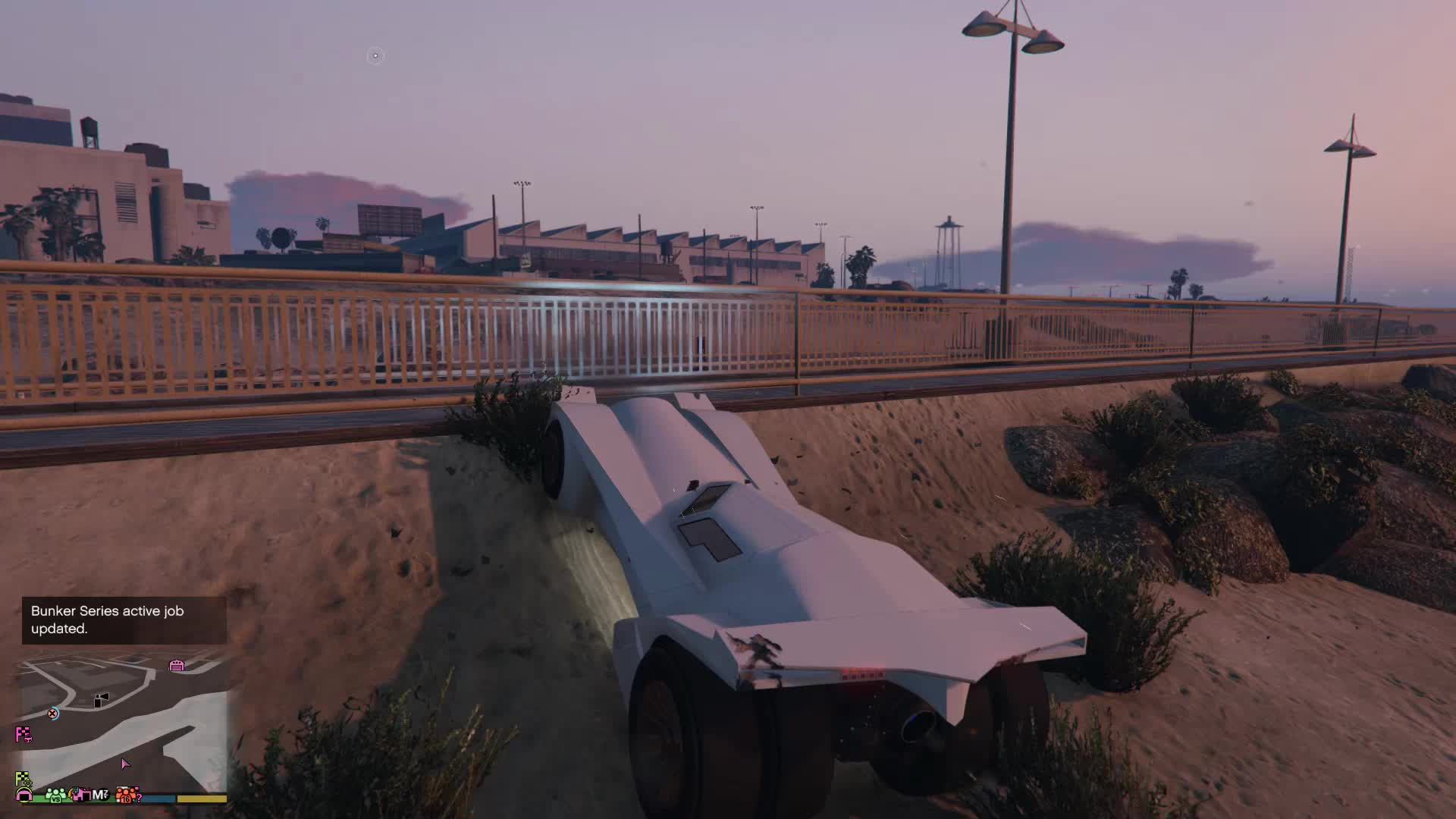 GIF GTAV - batmobile flight GIFs