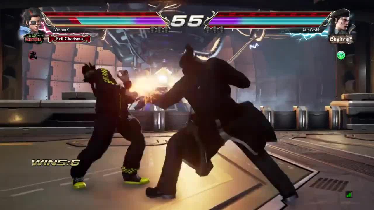 PS4Share, Tekken, ivesperx, Against a drag GIFs
