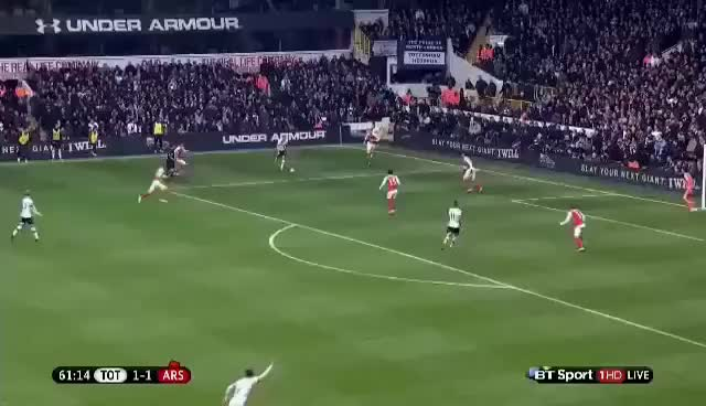 Watch and share Harry Kane Amazing Long Shot Goal Vs. Arsenal 2:1 GIFs on Gfycat