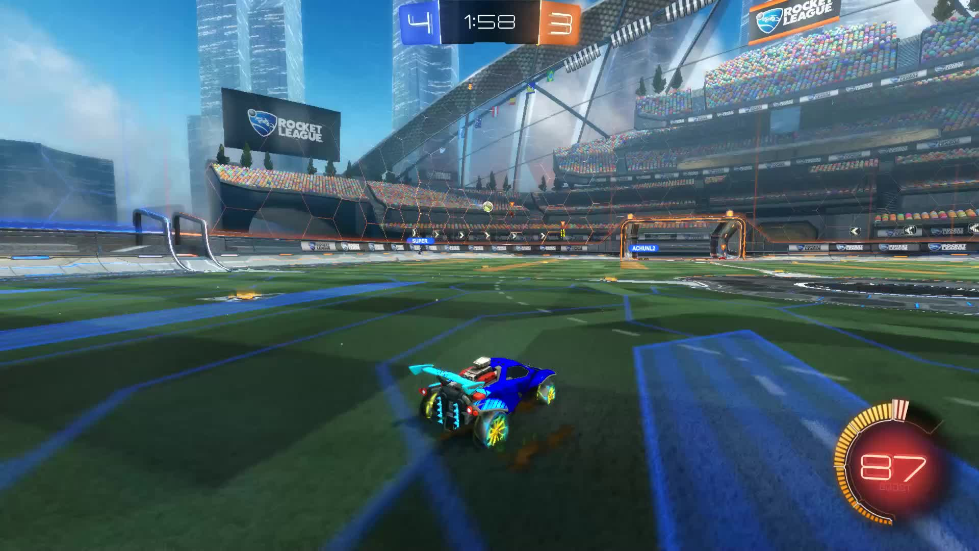 Assist, Gif Your Game, GifYourGame, Hellosh, Rocket League, RocketLeague, Assist 7: Hellosh GIFs