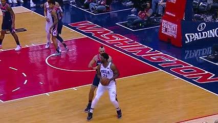 022518, Joel Embiid — Philadelphia 76ers GIFs
