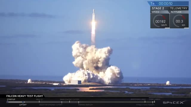 Watch Falcon Heavy Test GIF on Gfycat. Discover more related GIFs on Gfycat