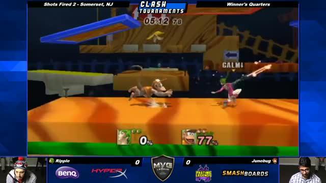 Watch Shots Fired 2 - Junebug vs Ripple - Project M GIF by @ripple884 on Gfycat. Discover more ssbb, ssbpm, super smash bros. brawl GIFs on Gfycat