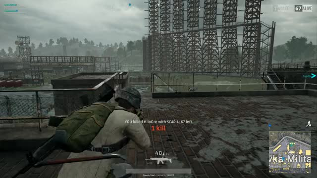 Watch WARNING roof slippery when wet GIF on Gfycat. Discover more Funny, PUBATTLEGROUNDS, PUBG GIFs on Gfycat