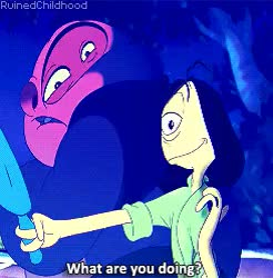 Watch Ruined Childhood GIF on Gfycat. Discover more Disney, africant, disney gifs, jumba and pleakley, lilo and stitch GIFs on Gfycat
