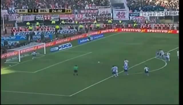 Watch and share Olave Le Ataja Penal A Pavone (River VS Belgrano) Promocion 2011 GIFs on Gfycat