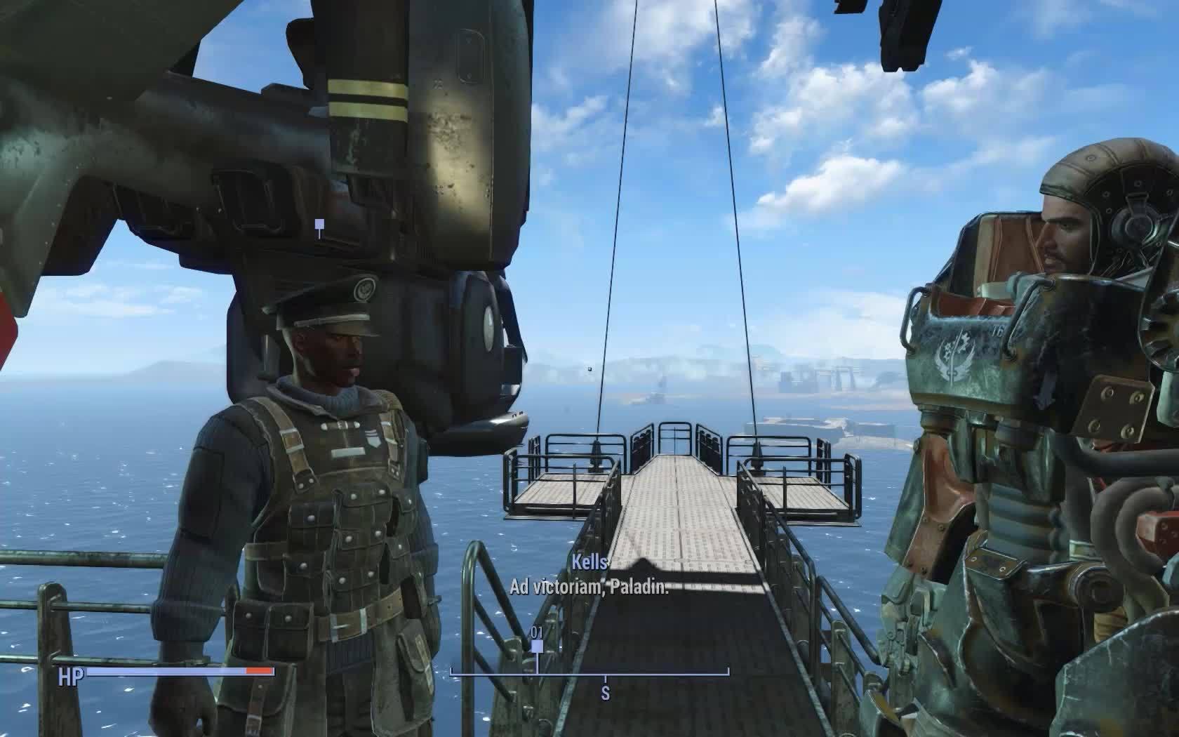 fallout 4, fo4, fo4 ship clip GIFs