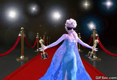 Watch and share Frozen Oscar GIFs on Gfycat