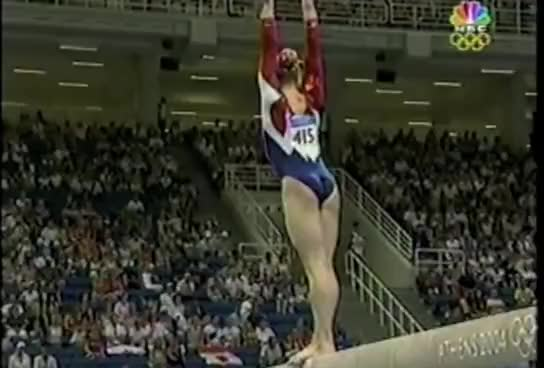 Watch Olympic Gymnast crash GIF on Gfycat. Discover more beam, fall, gymnastics GIFs on Gfycat