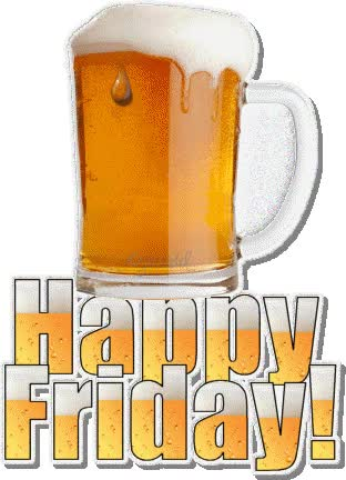 Watch and share Happy Friday!  (Categoría: Friday) animated stickers on Gfycat