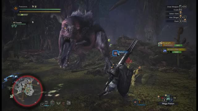 Watch nope nope nope GIF by Synchronize (@synchronize88) on Gfycat. Discover more anjanath, monster hunter world, nope nope GIFs on Gfycat