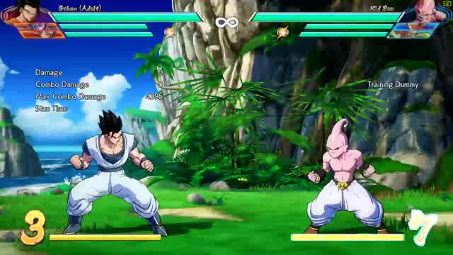 Watch A.Gohan Midscreen BNB 5M Starter GIF by Talyx96 (@llaass) on Gfycat. Discover more Dragon Ball FighterZ, dbfz GIFs on Gfycat