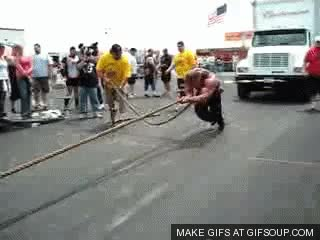 Watch and share Pulling Truck GIFs on Gfycat