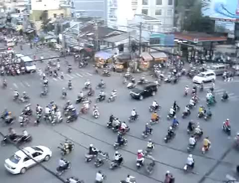 Watch and share Rush Hour Traffic In Ho Chi Minh City, Viet Nam GIFs on Gfycat