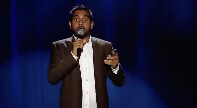 Watch Aziz Ansari Whaaaaaat?! GIF on Gfycat. Discover more related GIFs on Gfycat